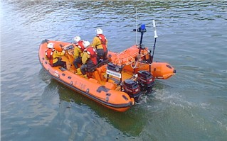 The Atlantic 75 Staithes Inshore Lifeboat